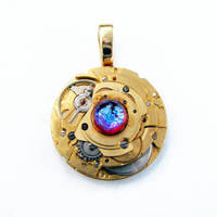 IRONMAN MOVIE INSPIRED PENDANT by Create-A-Pendant