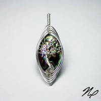 Abalone Shell Tree of Life by Create-A-Pendant