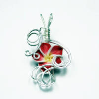 Wire Wrap Flower Pendant 3 by Create-A-Pendant