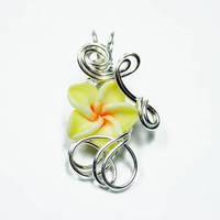 Perfume Flower Pendant by Create-A-Pendant