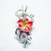 Perfume Flower Pendant 2 by Create-A-Pendant