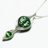 MINI Wire Wrap Goddess Pendant by Create-A-Pendant