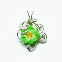 Flower Perfume Pendant 4 by Create-A-Pendant