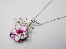 Wire Wrap Perfume Pendant by Create-A-Pendant
