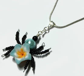 Tropical Spider Perfume Pendant by Create-A-Pendant