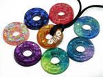 Resin Donut Pendants by Create-A-Pendant
