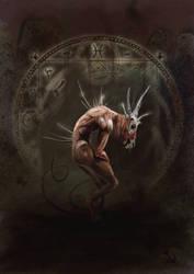 Nameless Horror V by JaimeNieves