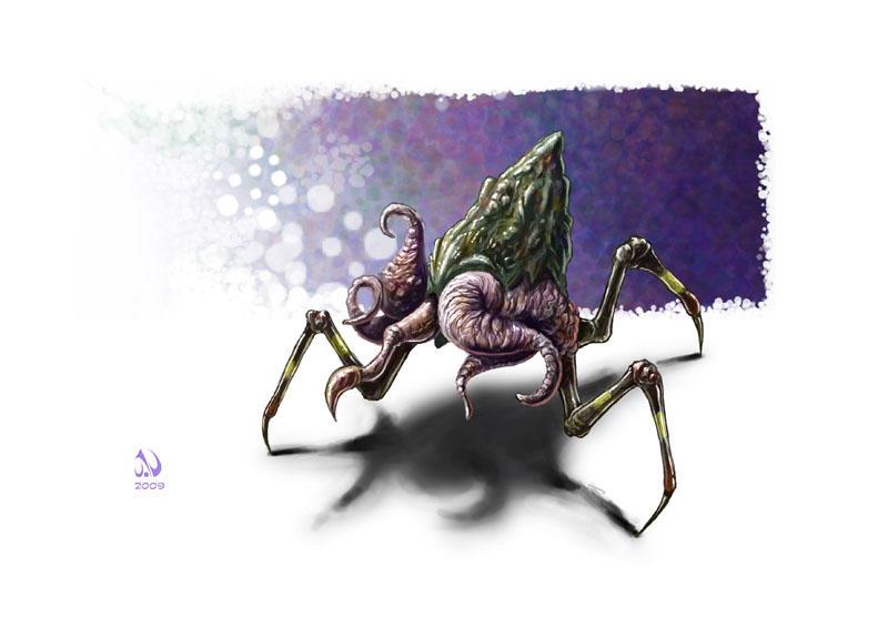 Nameless Horror III by JaimeNieves