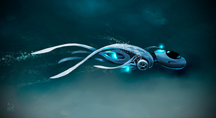 Underwater Pod by JaimeNieves