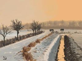 Color Study - Landscape by JaimeNieves