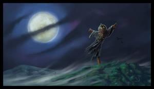 Cthulhu Scarecrow by JaimeNieves