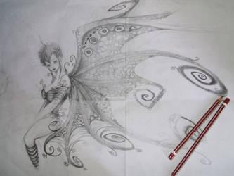 unfinished fairy tale by saloooomy