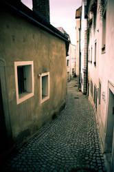 Old alleyway in Steyr by Fujisama1999
