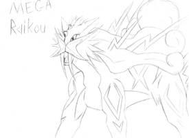 Mega Raikou by tbunty52094