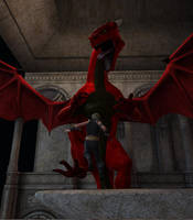 Dragon Attack by tbunty52094