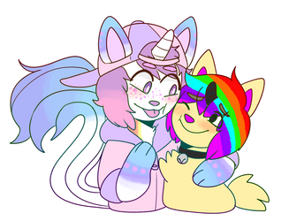 Gay Unicorn Furries by CaptainSellOut
