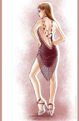 Fashion dress 2 by Tania-S