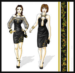 Black and gold by Tania-S