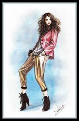 Fashion illustration 5 by Tania-S
