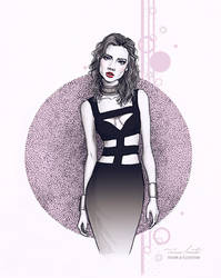 The black dress by Tania-S