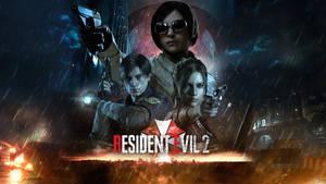 Resident Evil 2 (remake) 4K Wallpaper by ZaetaTheAstronaut