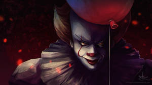 Pennywise the dancing clown by Enielka