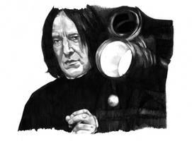 Severus Snape by MissGeorgeSpiggott