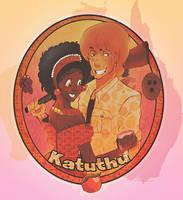 Paul and Edoline 2 by Kwaene
