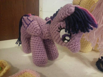 Twilight Sparkle Plush by tokniTORNOTTOknit