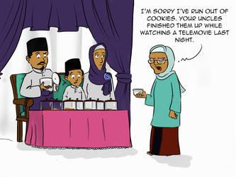 One Day On Eid by poecillia-gracilis19