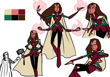 Avengers Fusions - Paprika by DKettchen
