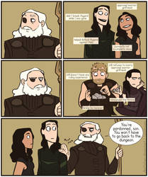 Odin after Ragnarok prob by DKettchen
