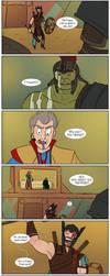 Ragnarok - page 12/? - Fight by DKettchen