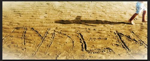 Shadows at the beach by Helenartathome