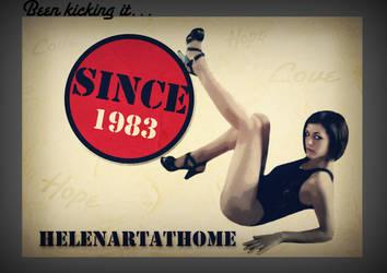 Been kicking it ... by Helenartathome