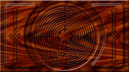 Chartres Labyrinth by Macteabird898