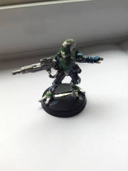 ME Quarian Infiltrator-WIP by scanomon