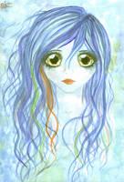 Blue Mermaid by hey-its-Skai