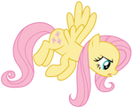 Fluttershy : Stare incoming by Kooner-cz
