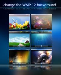 change the wmp background by yacine29
