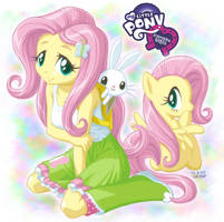 Equestria Girls Fluttershy by uotapo