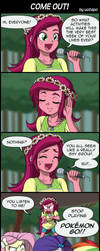 COME OUT! by uotapo