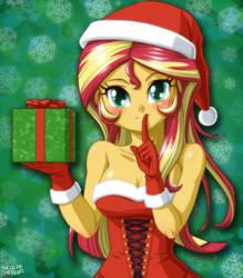 Santa Shimmer's Secret Gift by uotapo