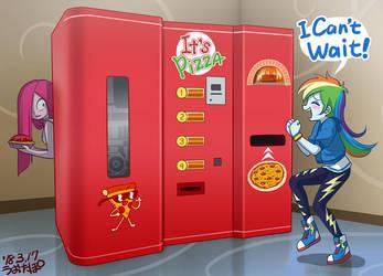 Pizza Vending Machine by uotapo