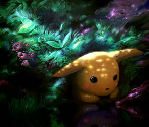Pikachu by Sekkosiki