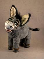 Emiel the Donkey by mellisea