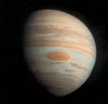 Giant Red Spot Jupiter by Pioneer 11 by FarGetaNik