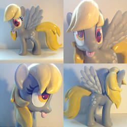 Derpy Hooves fashion style custom pony(For sale) by Affanita