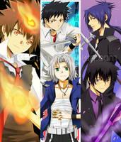 Bookmarks- Hitman Reborn set by meru-chan