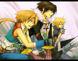 Dissidia FF- Team 789 by meru-chan
